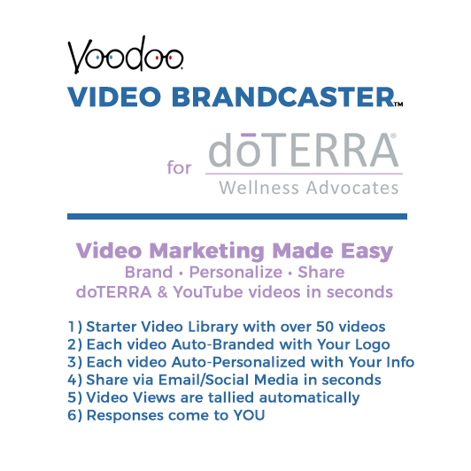Video Brandcaster for doTERRA