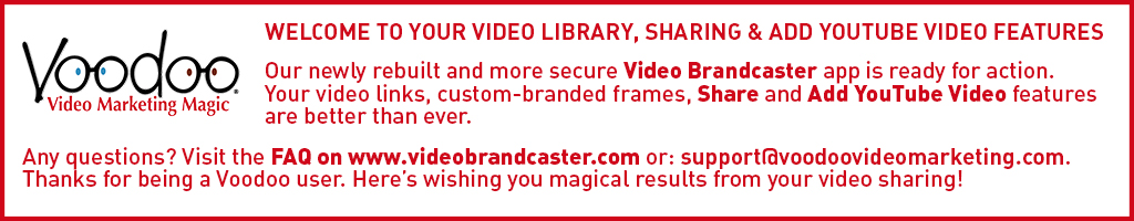 Welcome to Video Brandcaster
